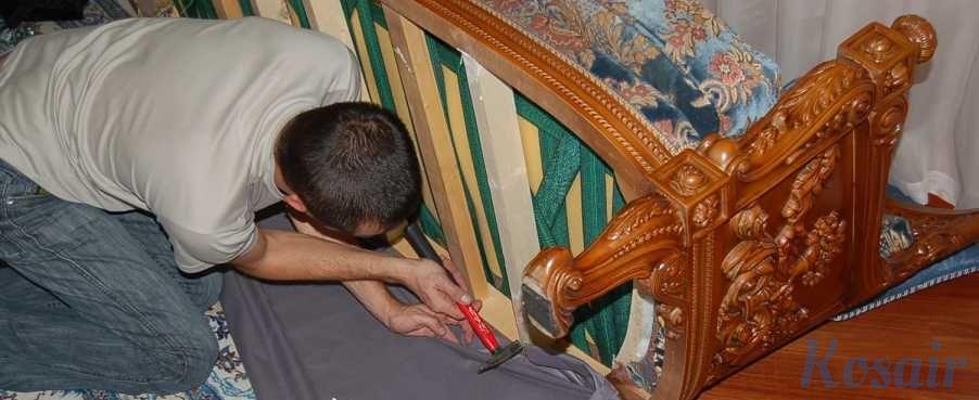 Фото - Перетяжка и ремонт мебели