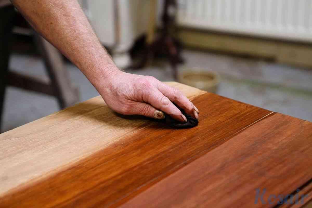 Полировка мебели от компании «Kosair