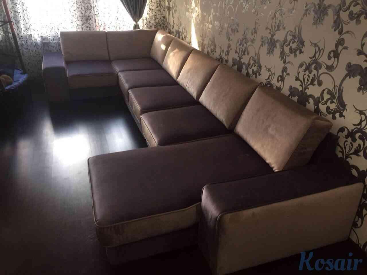 Перетяжка диванов от компании «Kosair