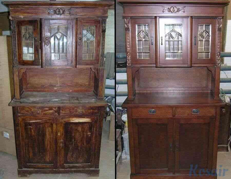 Ремонт деревянной мебели от компании «Kosair