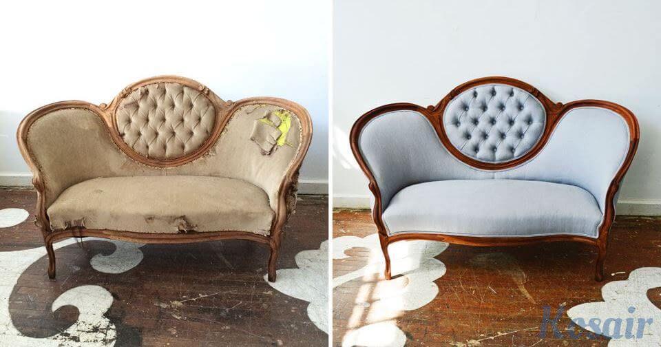Ремонт старой мебели от компании «Kosair