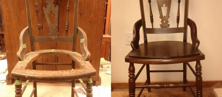 Фото - реставрация стульев - Kosair