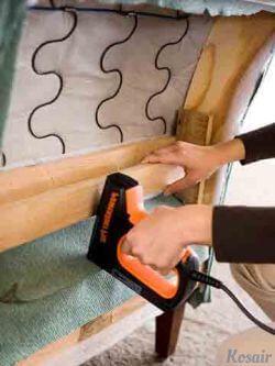 Материалы, используемые для перетяжки мебели
